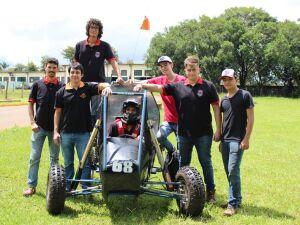 Equipe da UCDB participa na próxima semana da 25ª Competição Baja SAE Brasil-Petrobras