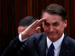 O Presidente do Brasil, Jair Messias Bolsonaro