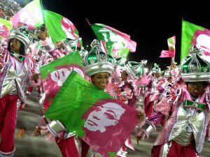 A Mangueira é a segunda maior vencedora do Carnaval do Rio
