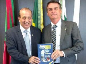 Ministro do TCU Augusto Nardes e Presidente Jair Bolsonaro