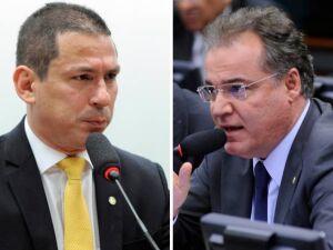 Marcelo Ramos (PR-AM) e Samuel Moreira (PSDB-SP)