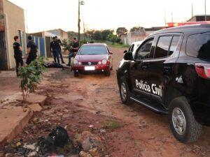 Polícia já cumpriu um mandado em uma residência na Vila Nogueira