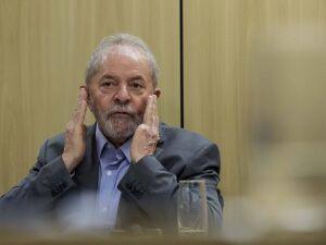 Lula em sua primeira entrevista após prisão