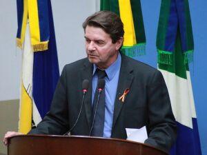 O vereador Silas Zanata