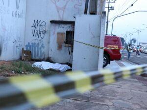 Corpo de Bombeiros encontrou homem morto e isolou a área