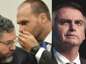 Bolsonaro expressa vontade em indicar o filho