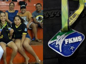 Atleta de 11 anos ultrapassa a marca de 150 pódios em competição de Karatê em MS