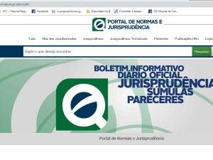 Portal de Normas e Jurisprudência tem mais de 200 mil documentos para consulta