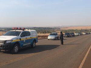 A operação policial contou com seis equipes policiais