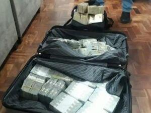 Polícia encontrou US$ 2 milhões nos endereços investigados na Operação Alba Vírus
