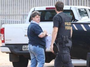Gerson Palermo (à esquerda) foi preso em março de 2017 em operação da Polícia Federal