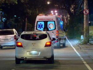 Bebê teve que er transferido às pressas para o cento cirúrgico do Hospital Miguel Couto