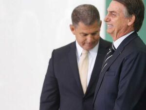 O presidente Jair Bolsonaro e Gustavo Bebianno