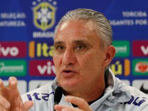 O técnico da Seleção Brasileira de Futebol, Adenor Leonardo Bachi, mais conhecido como Tite