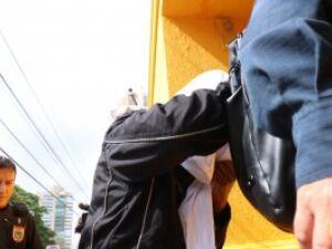 Preso chegou com rosto escondido na Corregedoria