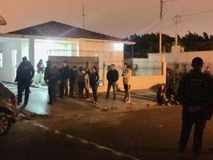 Residência onde a vítima foi executada