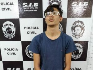 Antonio Augusto Freire de Carvalho Souza foi preso pelo SIG em Dourados