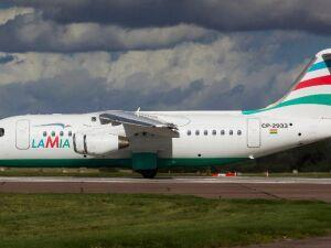Modelo de avião da LaMia
