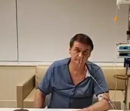 Bolsonaro terá alta hoje, informa boletim médico