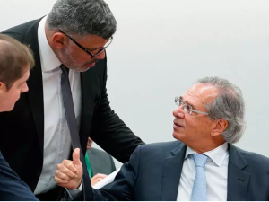 Alexandre Frota e Paulo Guedes