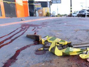 Vítima foi encontrada caída em calçada no cruzamento da Rua Ceará com São Borja