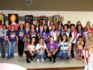 Mulheres em foto de comemoração no 1º Congresso