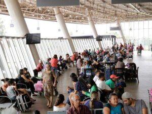 Entre hoje e amanhã sete mil pessoas devem embarcar no Terminal Rodoviário da Capital