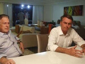 Luciano Bivar e o presidente Jair Bolsonaro