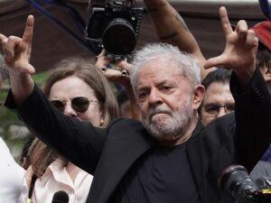O ex-presidente Luis Inácio Lula da Silva