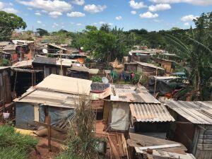 Comunidade do Mandela em Campo Grande
