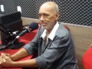 O radialista sul-mato-grossense e narrador esportivo, Lourival Pereira,