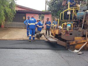 Obras de recapeamento serão executadas em toda a extensão da Rua Monte castelo