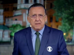 O principal narrador da Globo, Galvão Bueno
