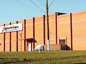 Sede da Superfrigo virou ntercontinental Foods, localizada no entroncamento das duas principais rodovias do MT, a BR 163 e BR 364