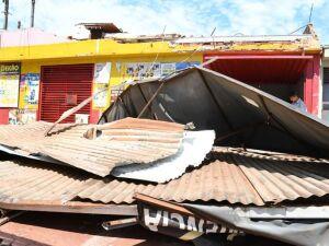Moradores relatam susto com formação de tornado no Canaã III