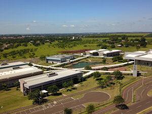 Prédio da UEMS em Campo Grande