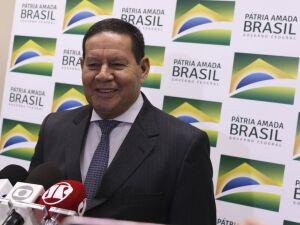 Presidente em exercício Hamilton Mourão