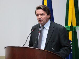 O vereador Silas Zanata (Cidadania)