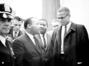 Martin Luther King e Malcolm X