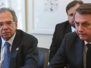 Paulo Guedes e Bolsonaro
