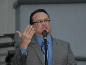 O vereador, Dr. Lívio