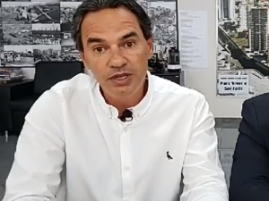 O prefeito Marquinhos Trad