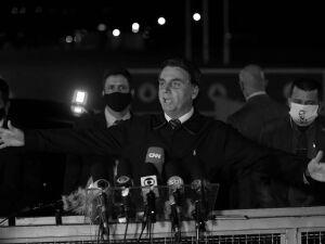 O presidente Jair Bolsonaro fala sobre o vídeo da reunião ministerial
