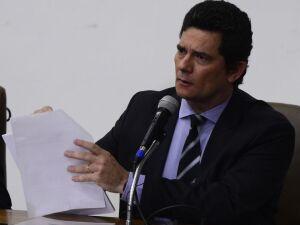 Ex-ministro da Justiça Sergio Moro anuncia saída do governo (24.abr.2020)