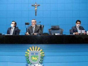 Presidente da Mesa Diretora, deputado Paulo Corrêa (PSDB)