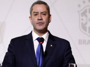 Presidente da Confederação Brasileira de Futebol (CBF), Rogério Caboclo
