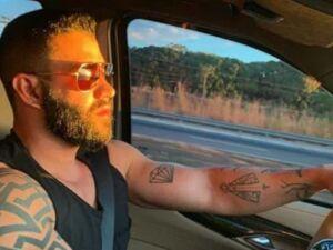 Cantor Gustavo Lima se envolve em acidente e atropela ciclista