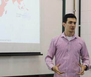 Mestrando em Biotecnologia pela UCDB, Lucas Bianchi Nunes