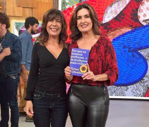 Mirian Goldenberg, em recente passagem pelo programa de Fátima Bernardes, para divulgar seu último livro