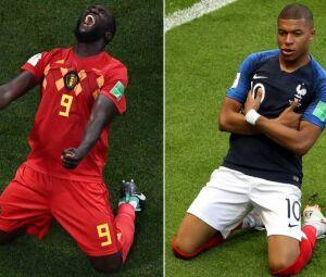 Lukaku e Mbappé são atrações da partida